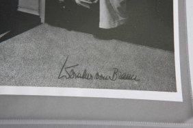 Wernher Von Braun: 4 Vols + 1 Signed Photograph.