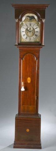 Simon Thorne, Tiverton, Longcase Clock.