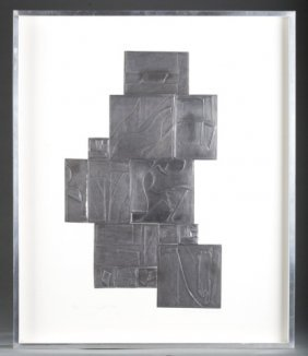Louise Nevelson, Night Tree. Collage. 1972.