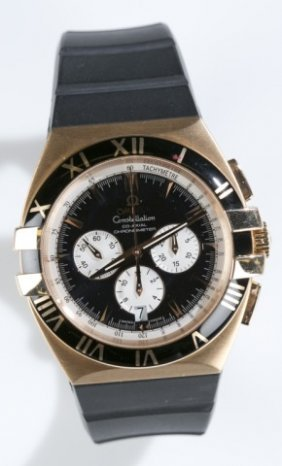 Omega Constellation Double Eagle Automatic Watch.