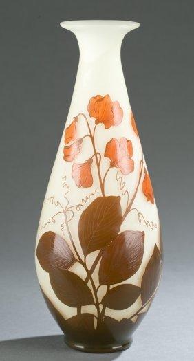 Loetz Cameo Art Glass Vase, C.1920s.