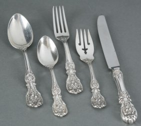 Reed & Barton Sterling Flatware 54 Pcs.