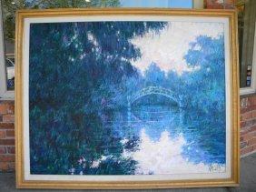 Homage To Monet By Aldo Luongo