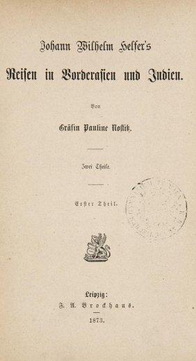 Helfer, Johann Wilhelm U. Gräfin Pauline Nostitz Johann