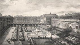 Vatout, M. J Histoire Lithographiée Du Palais Royal.