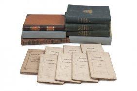Umfangreiche Sammlung Verschiedener Reiseberichte Und