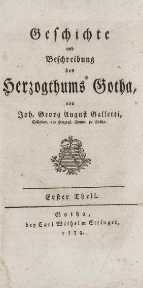 Galletti, Joh(ann) Georg August Geschichte Und