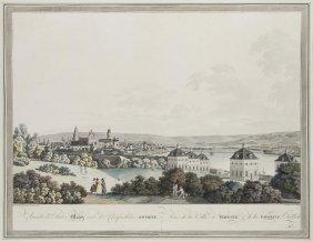 Ziegler, J Ansicht Der Stadt Mainz Und Der