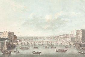 Alix, Pierre Michel Vue Du Pont De Westminster.