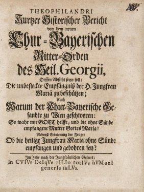 (franckenstein, Christian Gottfried) Theophilandri.