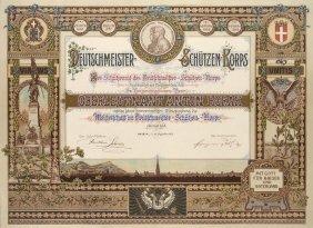 Deutschmeister-schützen-korps. Der Schützenrat Des