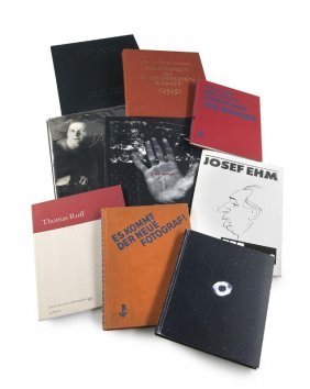 Sammlung Von 9 Photobüchern.