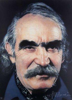 Helnwein, Gottfried Jean Tinguely. Farblithographie Auf
