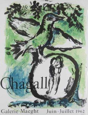 Chagall, Marc - Nach Chagall - Galerie Maeght (l'oiseau