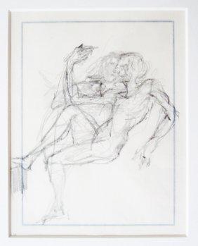 Salvador Dali - Etude De Couple Assis