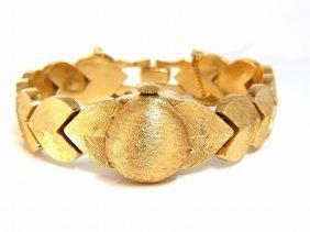 """Estate Baume Mercier 14kt Gold Watch Ladies """"ball"""""""