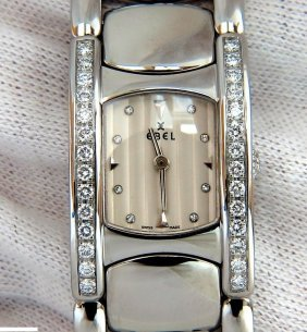 Ebel Beluga Watch Stainless Steel + Diamonds