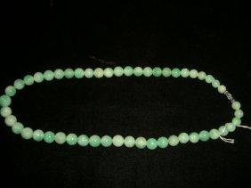 Burmese Jadeite Necklace