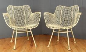 2 Russell Woodard Sculptura Chairs