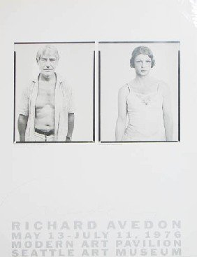 Signed Richard Avedon Poster 1976