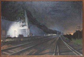 William DeBernardi Nocturnal Painting Summer Const