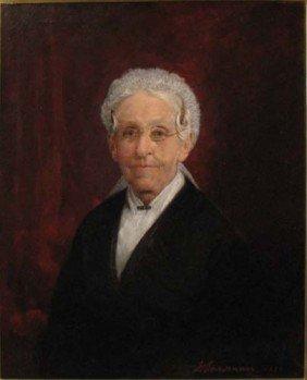 Jasper Lawman Portrait Of Elderly Woman