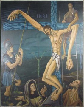 Modern Crucifixion By Urban Karl