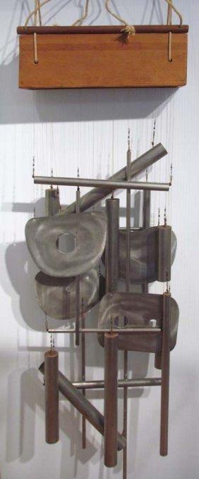 Yasu Kobashi Untitled Mixed Media Hanging Sculpture