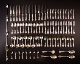 Reed And Barton Sterling Silver Francis I Flatware Set