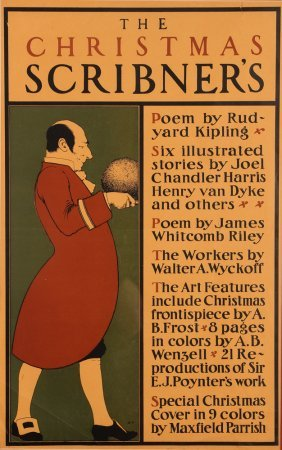 Maxfield Parrish Poster For Scribner's Magazine