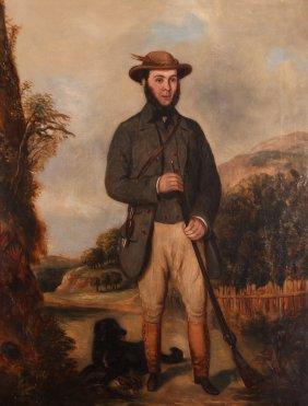 Antebellum American Portrait Of A Successful