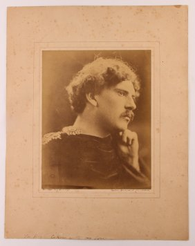 "Julia Margaret Cameron Albumen ""portrait Henry Cotton"""