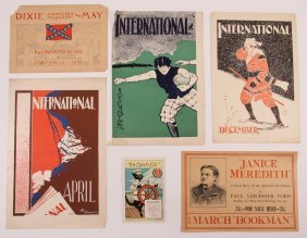 Various Assorted Monthly Magazine & Ephemera Poster