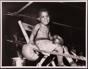 Teenie Harris Photo Of Young Boxing Boy