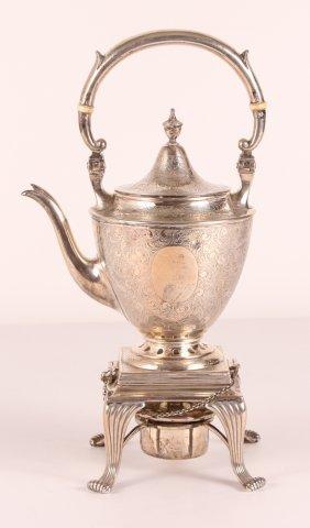 Meridan Britannia Sterling Silver Teapot With Heater