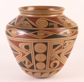 Jose Andres Villalba Mata Ortiz Polychrome Ceramic Bowl