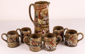 Buffalo Pottery Deldare Ware Fallowfield Hunt