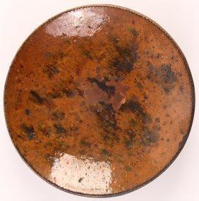 19th C. Pennsylvania Redware Plate