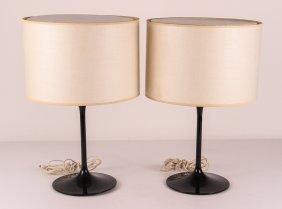 Pair Of Midcentury Laurel Style Table Lamps By Stemlite