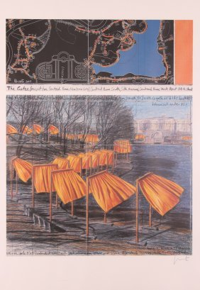 Christo And Jeanne-claude The Gates Poster