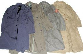 Us Military Overcoat Lot Of 4