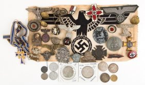 Lot Of Wwii German Items