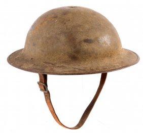 Wwi Us Doughboy Brodie Helmet