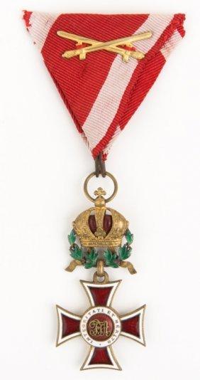 Austria Order Of Leopold Cross Medal