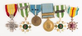 Us Medal Lot Of 6 Korea Vietnam Arvn