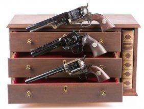 Colt Bicentennial 3 Revolver Commemorative Set