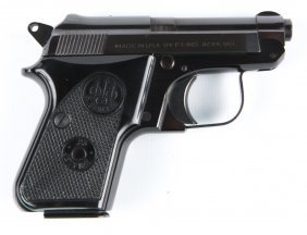 Beretta Model 950 Bs 25 Caliber Pistol