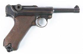 German Dwm Commercial P-08 Luger Pistol