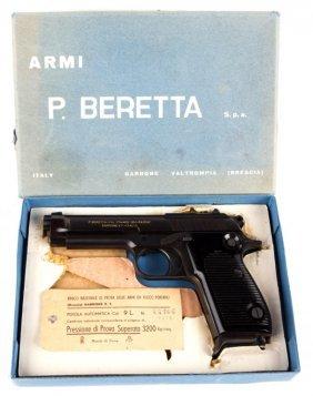 Beretta Model 1951 9mm Pistol With Box