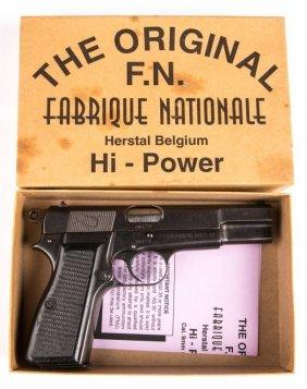 Belgian Fn Hi Power 9mm Pistol Police Issued